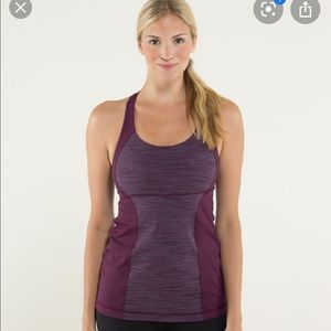 Lululemon Energy Tank Wee Are From Space Plum 6